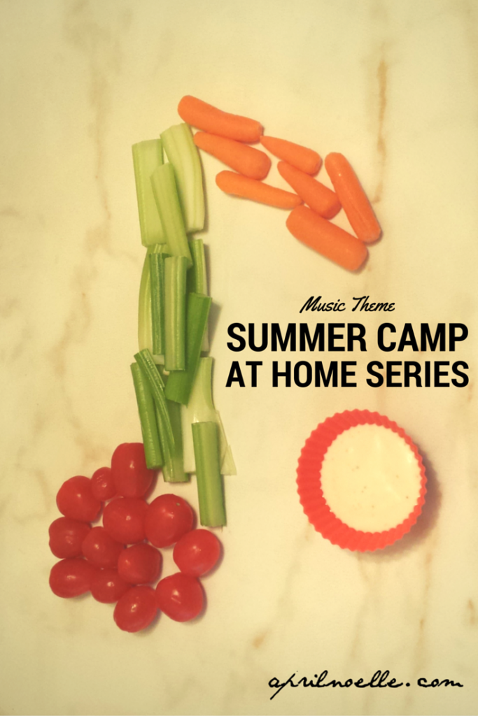 Music Theme- Summer Camp At Home Series