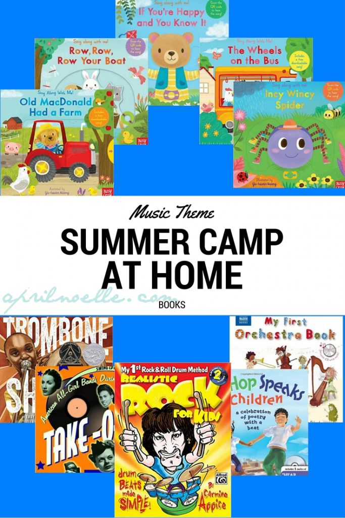 Music Theme Summer Camp at Home