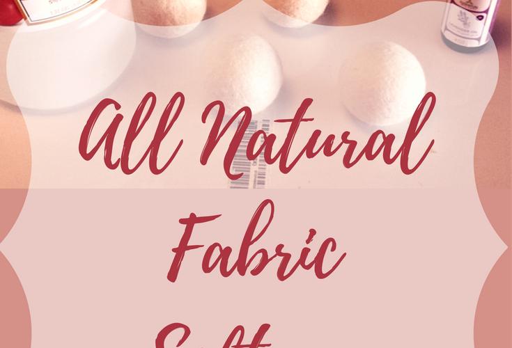 All Natural Fabric Softener | AprilNoelle.com