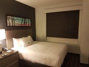 Bedroom at the Hyatt House Atlanta/Downtown | AprilNoelle.com