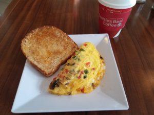 Breakfast at Hyatt House Atlanta/Downtown | AprilNoelle.com