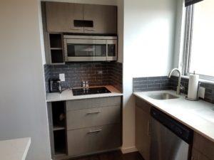 Kitchen in Hyatt House Atlanta/Downtown | AprilNoelle.com