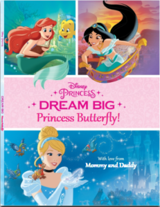Dream Big Princess Butterfly | Put Me in the Story | AprilNoelle.com
