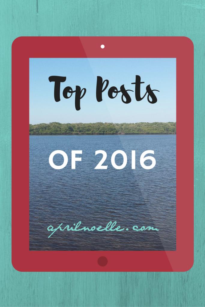 Top Posts of 2016 | AprilNoelle.com